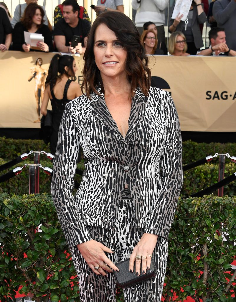 LOS ANGELES, CA - JANUARY 29:  Actor Amy Landecker attends The 23rd Annual Screen Actors Guild Awards at The Shrine Auditorium on January 29, 2017 in Los Angeles, California. 26592_008  (Photo by Frazer Harrison/Getty Images)