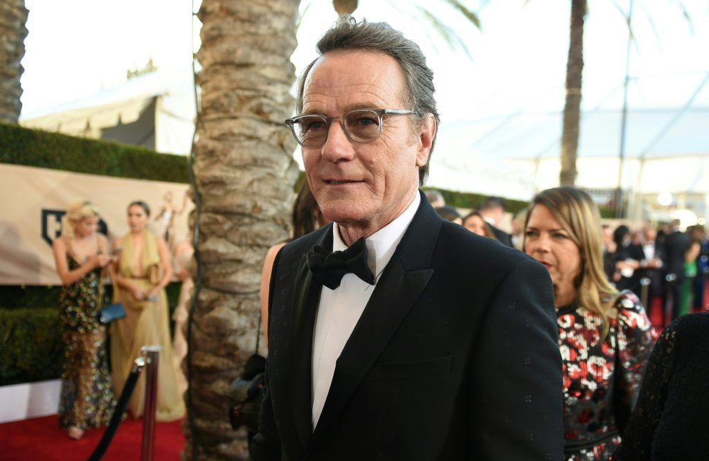 Actor Bryan Cranston arrives for the 23rd Annual Screen Actors Guild Awards at the Shrine Exposition Center on January 29, 2017, in Los Angeles, California. (Photo ROBYN BECK/AFP/Getty Images)