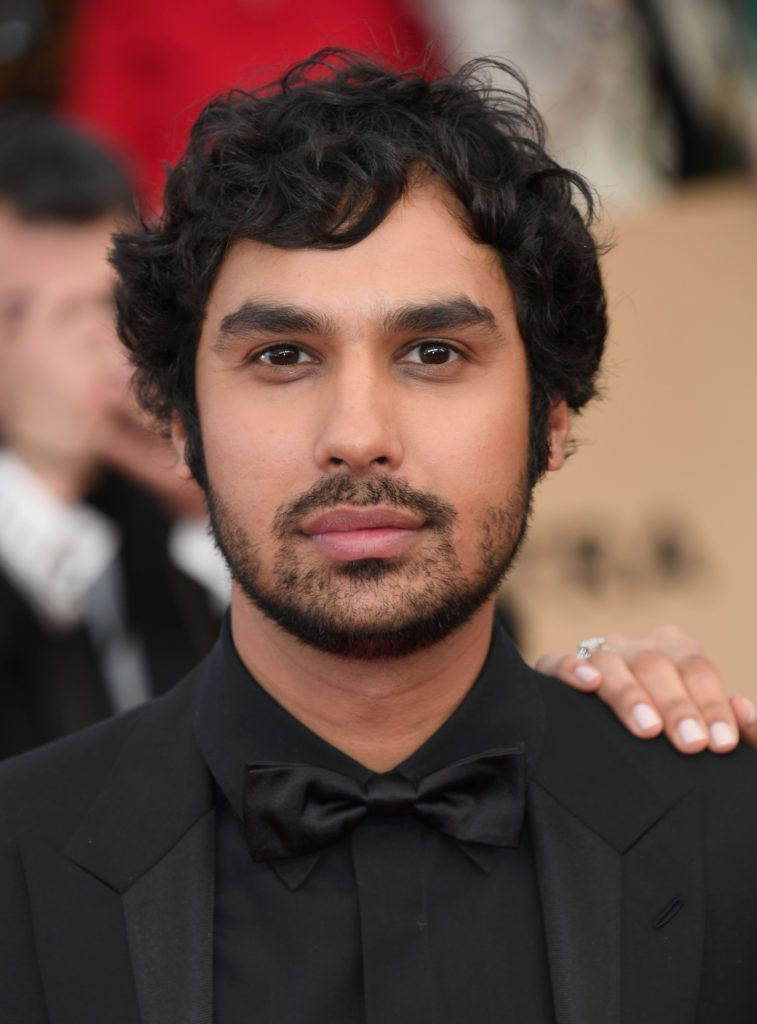 LOS ANGELES, CA - JANUARY 29: Actor Kunal Nayyar attends the 23rd Annual Screen Actors Guild Awards at The Shrine Expo Hall on January 29, 2017 in Los Angeles, California.  (Photo by Alberto E. Rodriguez/Getty Images)