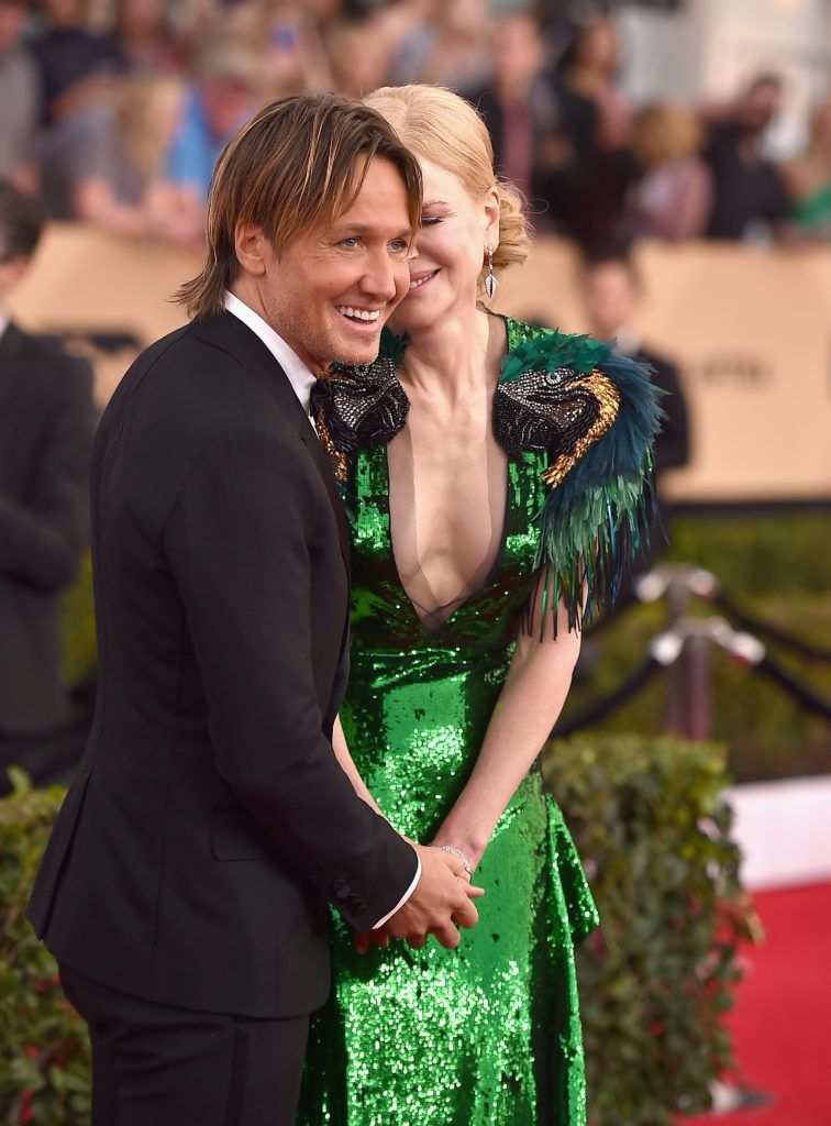 LOS ANGELES, CA - JANUARY 29:  Keith Urban and actor Nicole Kidman attend the 23rd Annual Screen Actors Guild Awards at The Shrine Expo Hall on January 29, 2017 in Los Angeles, California.  (Photo by Alberto E. Rodriguez/Getty Images)