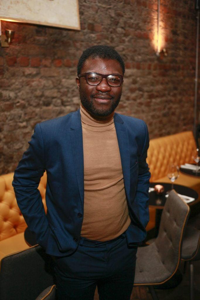 Timi Ogunyemi at the launch night of Bagots Hutton Restaurant at 6 Upper Ormond Quay, Dublin. Photo by Daragh McDonagh