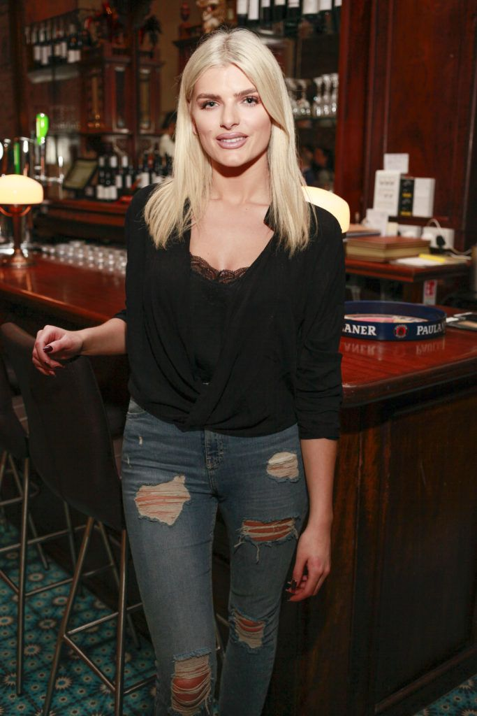 Ashley Kehoe at the launch night of Bagots Hutton Restaurant at 6 Upper Ormond Quay, Dublin. Photo by Daragh McDonagh