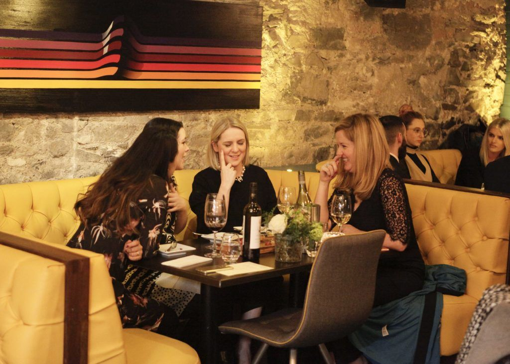 The launch night of Bagots Hutton Restaurant at 6 Upper Ormond Quay, Dublin. Photo by Daragh McDonagh