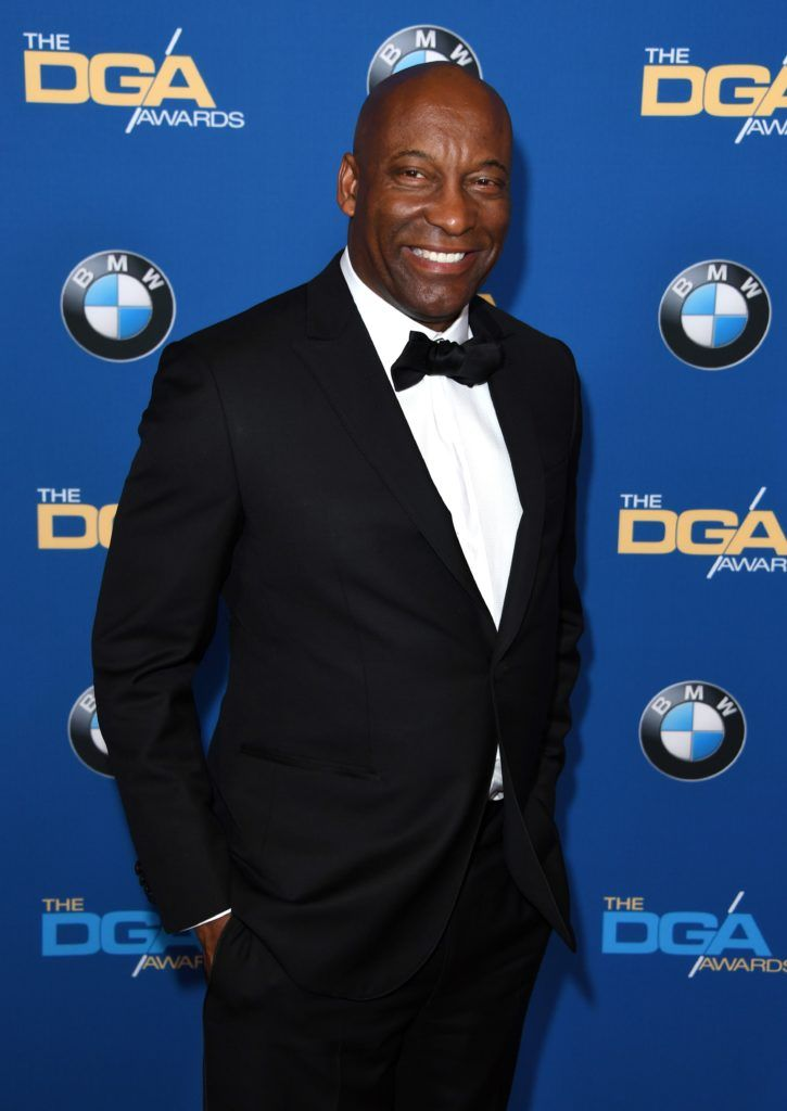 Director John Singleton arrives for the 69th Annual Directors Guild Awards (DGA), February 4, 2017 in Beverly Hills, California. (Photo MARK RALSTON/AFP/Getty Images)