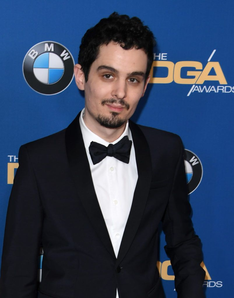 Director Damien Chazelle arrives for the 69th Annual Directors Guild Awards (DGA), February 4, 2017 in Beverly Hills, California.        (Photo MARK RALSTON/AFP/Getty Images)