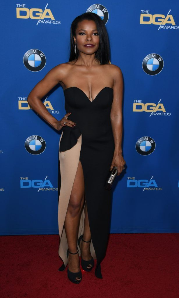 Actress Keesha Sharp arrives for the 69th Annual Directors Guild Awards (DGA), February 4, 2017 in Beverly Hills, California. (Photo  MARK RALSTON/AFP/Getty Images)