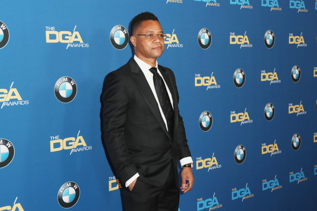 Cuba Gooding Jr. attends the 69th Annual Directors Guild of America Awards at The Beverly Hilton Hotel on February 4, 2017 in Beverly Hills, California.  (Photo by Frederick M. Brown/Getty Images)