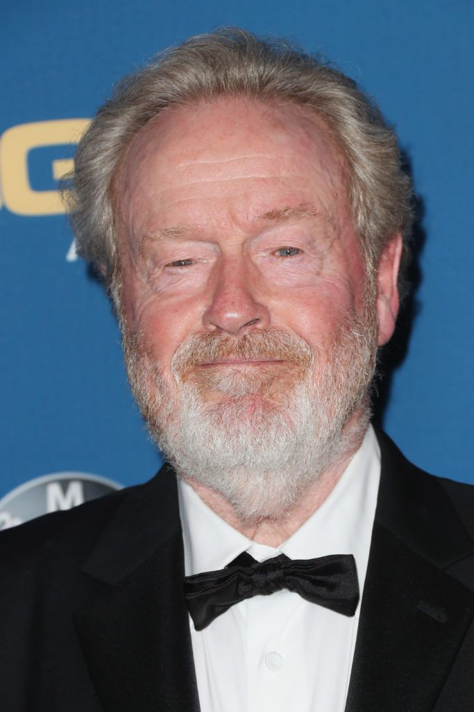 Director Sir Ridley Scott attends the 69th Annual Directors Guild of America Awards at The Beverly Hilton Hotel on February 4, 2017 in Beverly Hills, California.  (Photo by Frederick M. Brown/Getty Images)