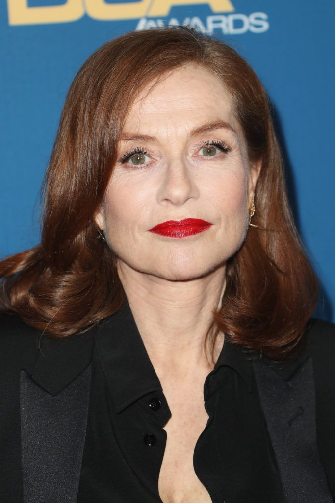 Isabelle Huppert attends the 69th Annual Directors Guild of America Awards at The Beverly Hilton Hotel on February 4, 2017 in Beverly Hills, California.  (Photo by Frederick M. Brown/Getty Images)