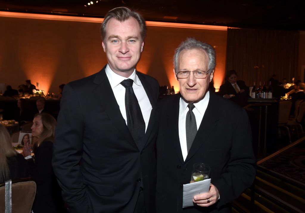 Directors Christopher Nolan (L) and Michael Mann attend the 69th Annual Directors Guild of America Awards at The Beverly Hilton Hotel on February 4, 2017 in Beverly Hills, California.  (Photo by Alberto E. Rodriguez/Getty Images for DGA)