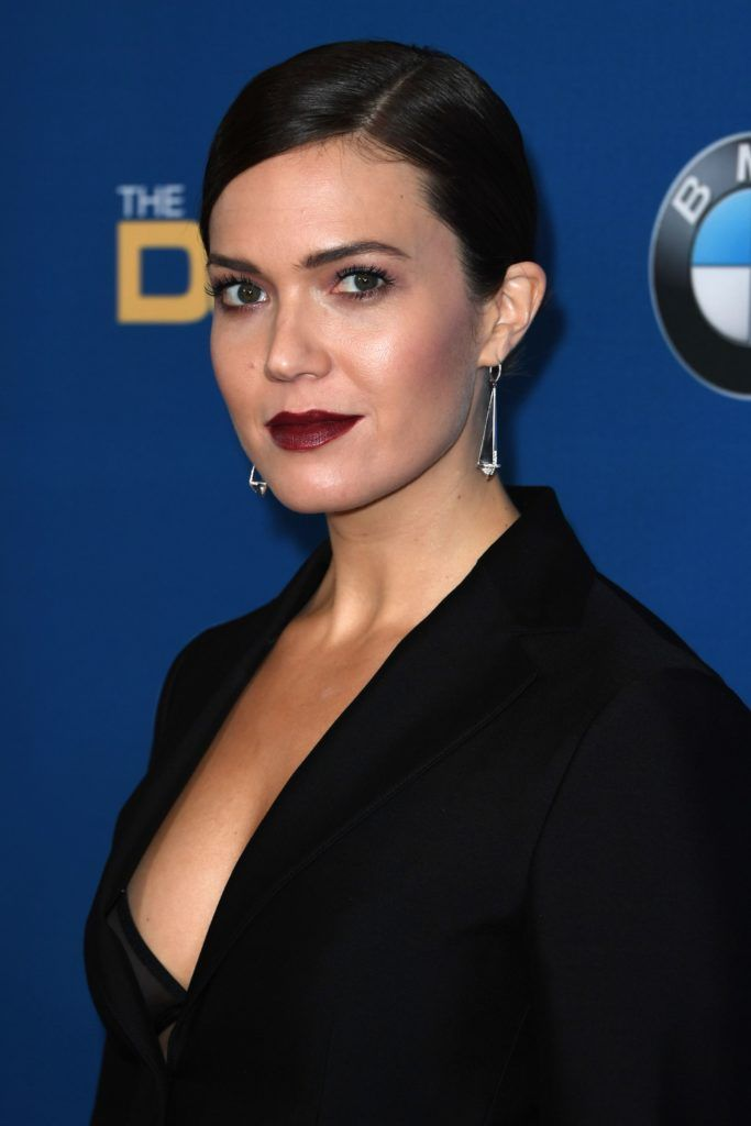 Actress Mandy Moore arrives for the 69th Annual Directors Guild Awards (DGA), February 4, 2017 in Beverly Hills, California. (Photo MARK RALSTON/AFP/Getty Images)