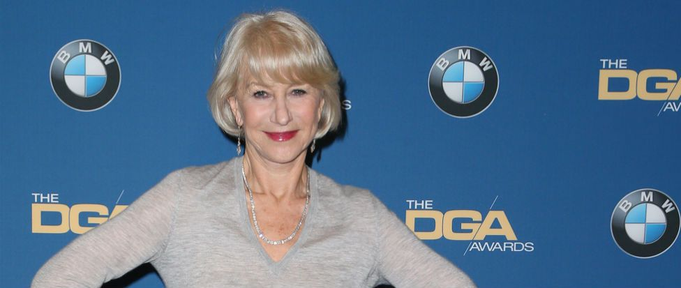 Helen Mirren wore a jumper and skirt to the DGA awards and nailed it