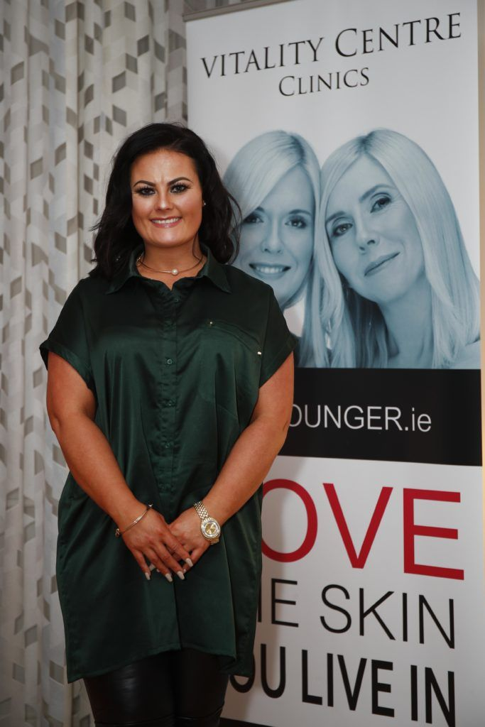 Pictured was Karen Ann Connolly at the launch of Vitality Centres new website www.younger.ie which focuses on a wide range of non surgical skin treatments. Picture Conor McCabe Photography.