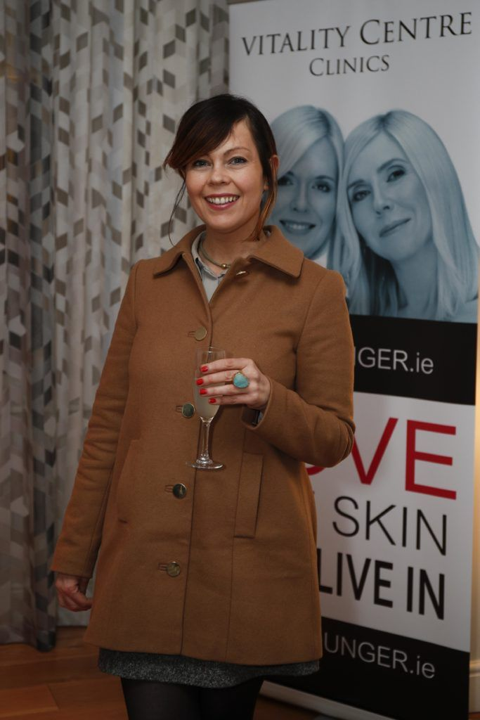 Pictured was Caroline Flannery at the launch of Vitality Centres new website www.younger.ie which focuses on a wide range of non surgical skin treatments. Picture Conor McCabe Photography.