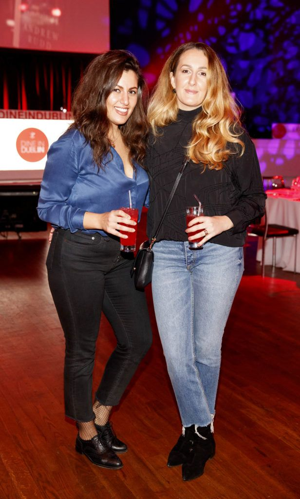 Teodora Comptil and Julia Coptil pictured at the official launch of Dine in Dublin 2017, the capital's favourite food festival which returns from Monday, 27th February to Sunday, 5th March. Picture Andres Poveda
