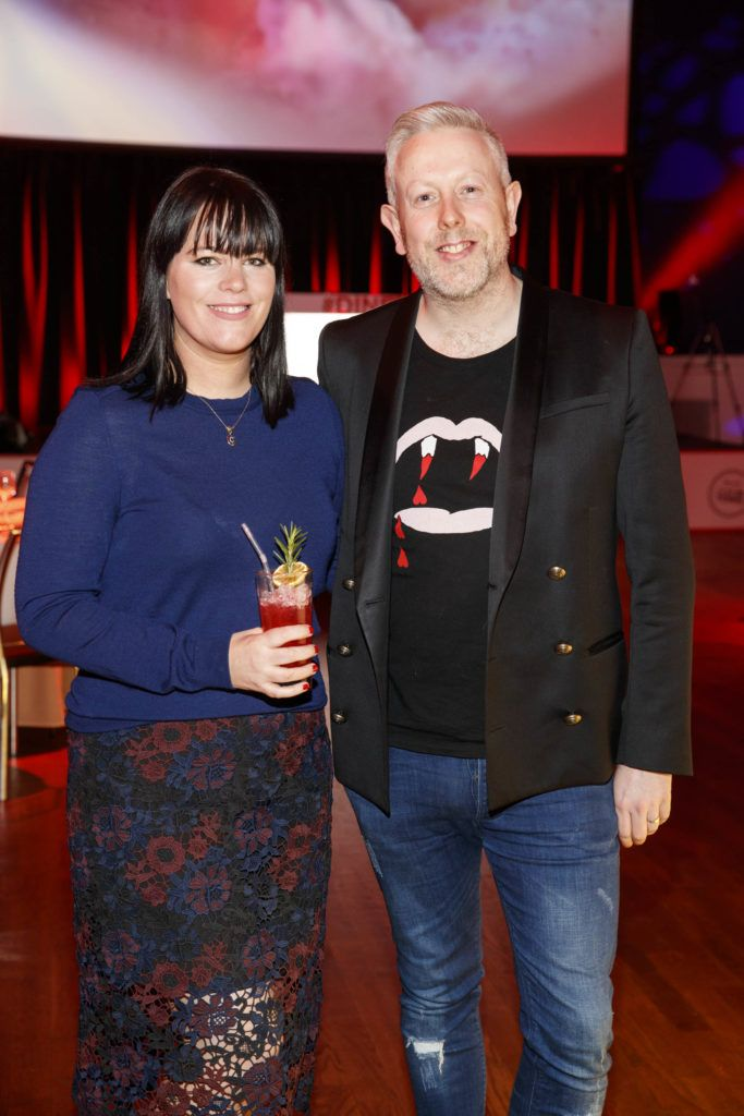 Corina Gaffey and Anthony Remedy pictured at the official launch of Dine in Dublin 2017, the capital's favourite food festival which returns from Monday, 27th February to Sunday, 5th March. Picture Andres Poveda
