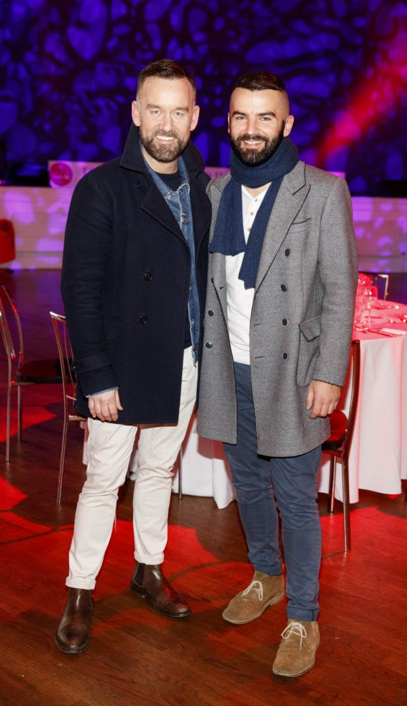 Brendan Courtney and Adam Maryniak pictured at the official launch of Dine in Dublin 2017, the capital's favourite food festival which returns from Monday, 27th February to Sunday, 5th March. Picture Andres Poveda