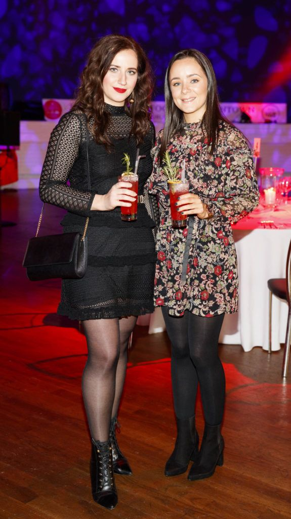 Veronica Kamenicka and Caoimhe Nolan pictured at the official launch of Dine in Dublin 2017, the capital's favourite food festival which returns from Monday, 27th February to Sunday, 5th March. Picture Andres Poveda