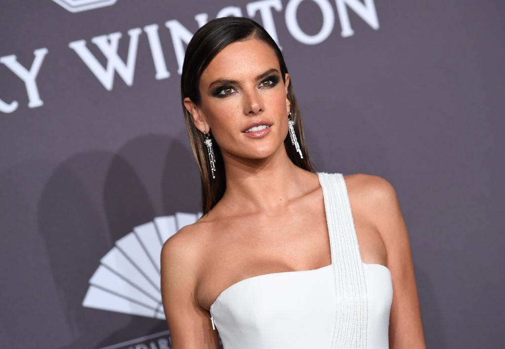 Model Alessandra Ambrosio attends the 19th annual amfAR's New York Gala to kick off NY Fashion Week at Cipriani Wall Street on February 8, 2017 in New York City.      (Photo ANGELA WEISS/AFP/Getty Images)