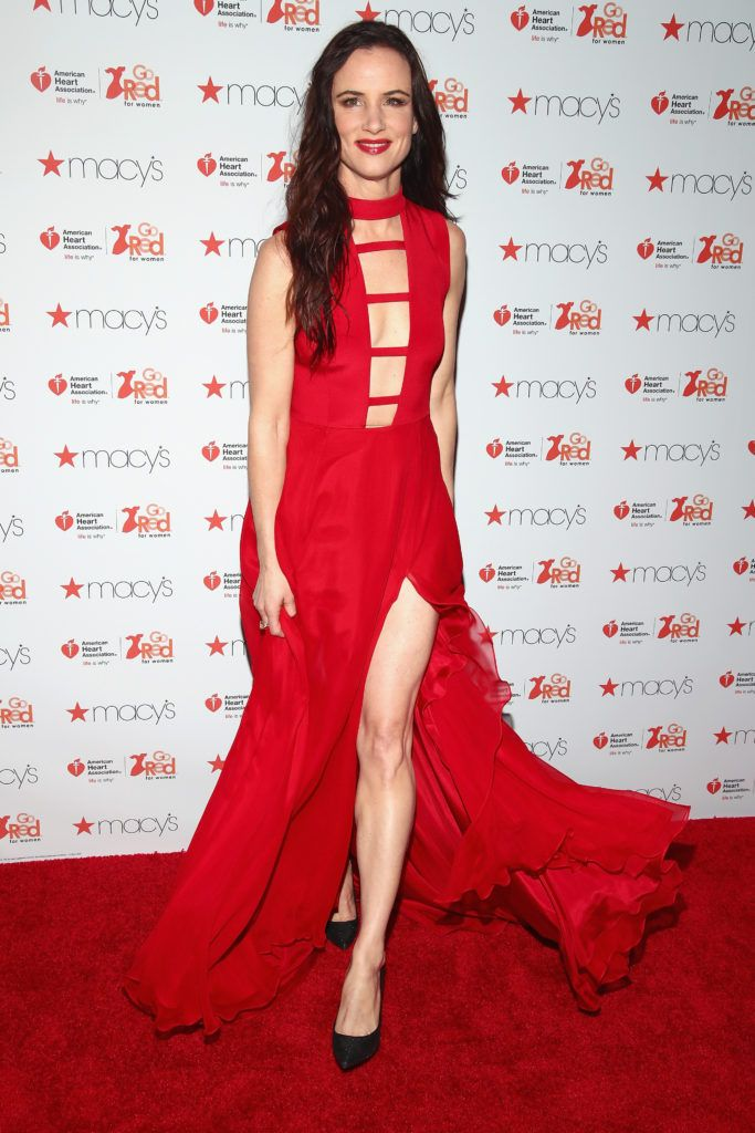 Actress Juliette Lewis attends the American Heart Association's Go Red For Women Red Dress Collection 2017 presented by Macy's at Fashion Week in New York City at Hammerstein Ballroom on February 9, 2017 in New York City.  (Photo by Astrid Stawiarz/Getty Images for AHA)