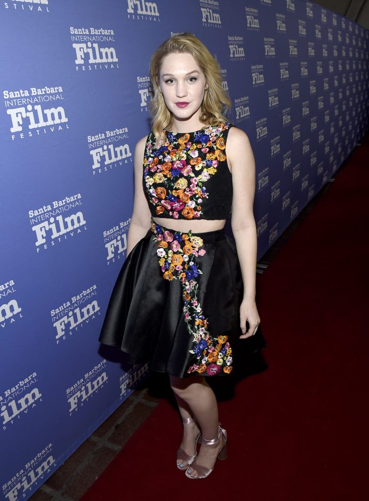Actress Hope Lauren of 'Different Flowers' attends the Maltin Modern Master Award tribute during the 32nd Santa Barbara International Film Festival at the Arlington Theater  on February 2, 2017 in Santa Barbara, California.  (Photo by Matt Winkelmeyer/Getty Images for SBIFF)