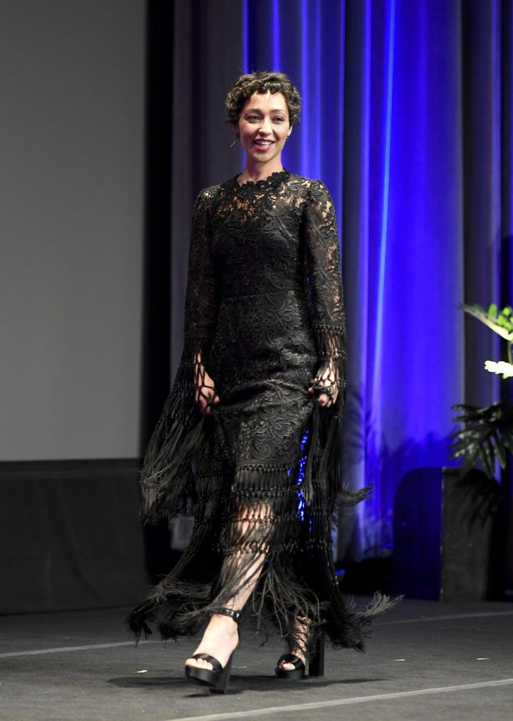 Ruth Negga accepts the Virtuosos Award presented by UGG during the 32nd Santa Barbara International Film Festival at the Arlington Theatre on February 4, 2017 in Santa Barbara, California.  (Photo by Matt Winkelmeyer/Getty Images for SBIFF)