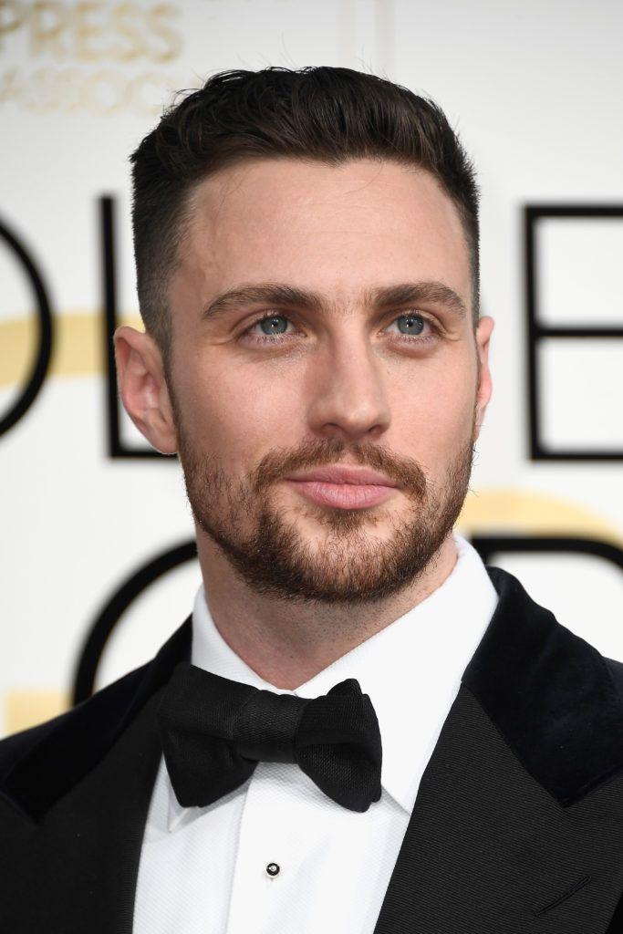Actor Aaron Taylor-Johnson attends the 74th Annual Golden Globe Awards at The Beverly Hilton Hotel on January 8, 2017 in Beverly Hills, California.  (Photo by Frazer Harrison/Getty Images)