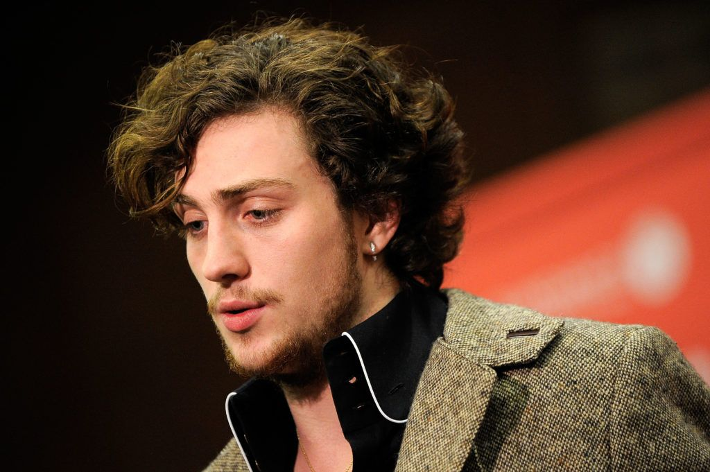 "Aaron Johnson attends the ""Nowhere Boy"" premiere at Eccles Center Theatre during the 2010 Sundance Film Festival on January 27, 2010 in Park City, Utah.  (Photo by Jemal Countess/Getty Images)"