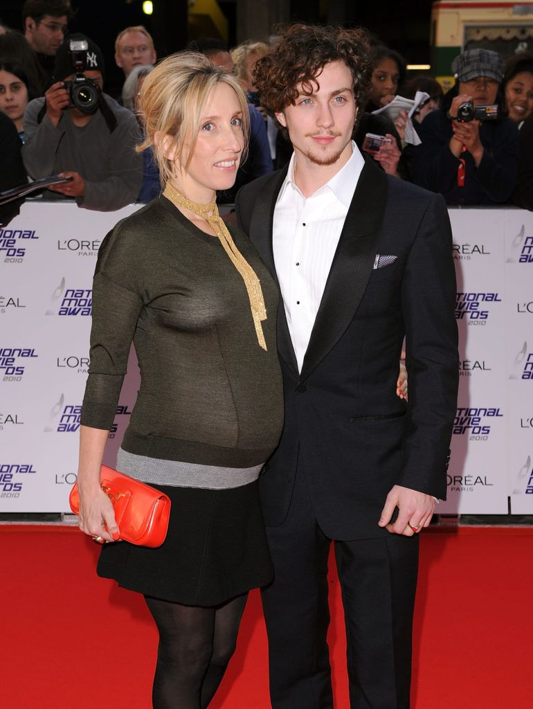 Director Sam Taylor Wood (L) and actor Aaron Johnson attend the National Movie Awards 2010 at the Royal Festival Hall on May 26, 2010 in London, England.  (Photo by Gareth Cattermole/Getty Images)