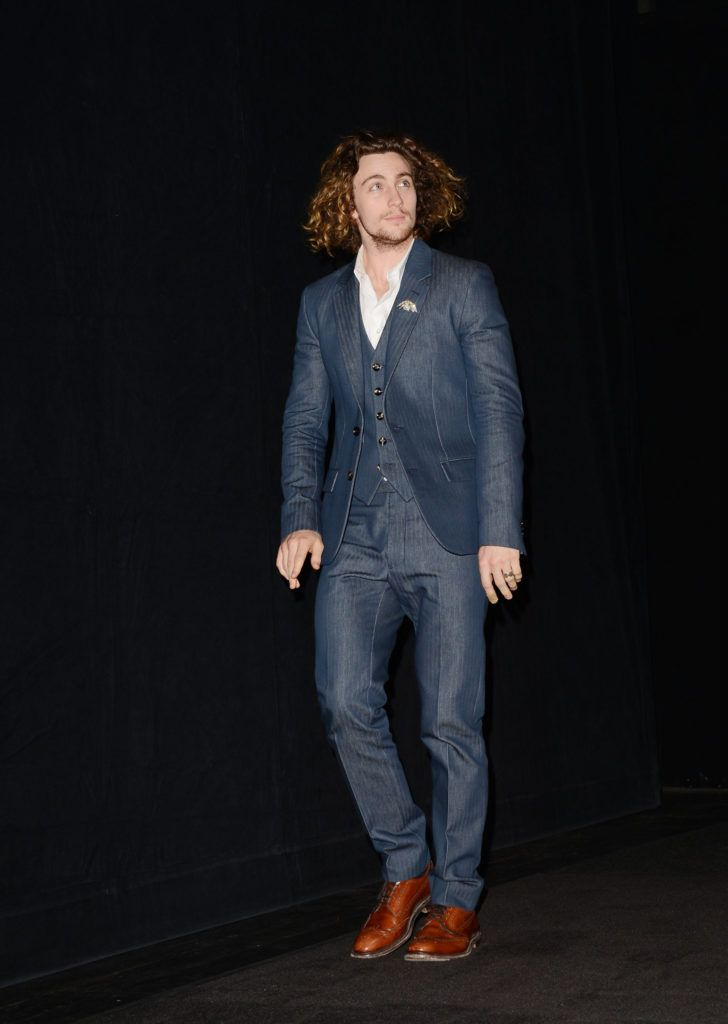 """Actor Aaron Taylor-Johnson attends the """"Anna Karenina"""" premiere during the 2012 Toronto International Film Festival at The Elgin on September 7, 2012 in Toronto, Canada.  (Photo by Jason Merritt/Getty Images)"""