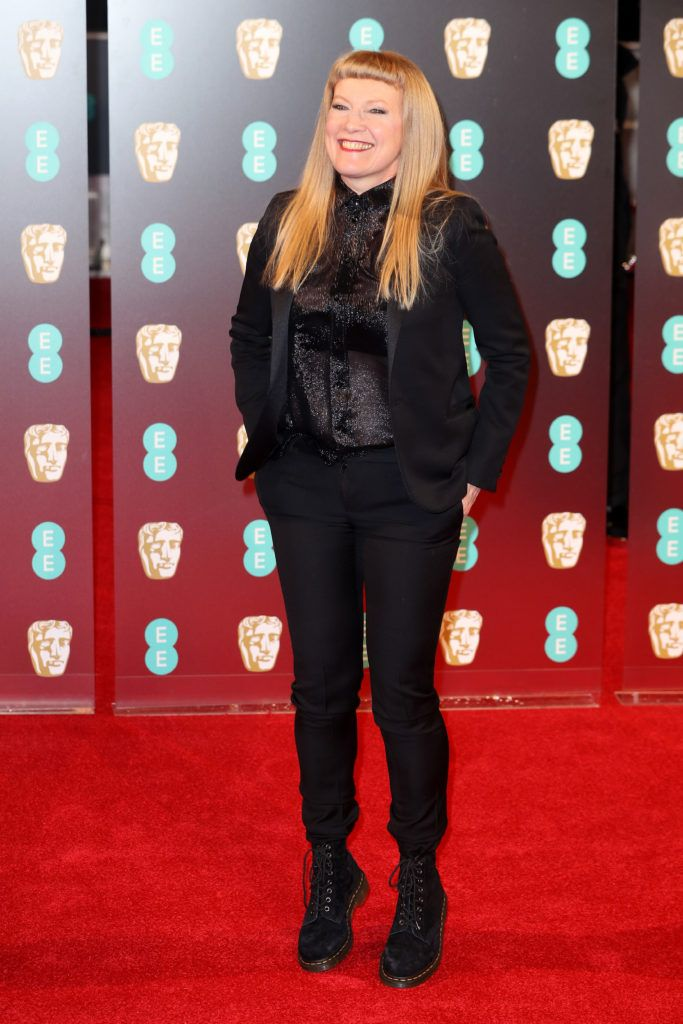 LONDON, ENGLAND - FEBRUARY 12: Andrea Arnold attends the 70th EE British Academy Film Awards (BAFTA) at Royal Albert Hall on February 12, 2017 in London, England.  (Photo by Chris Jackson/Getty Images)