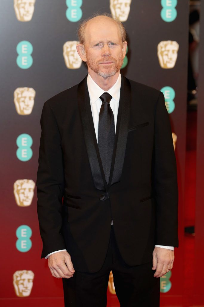 LONDON, ENGLAND - FEBRUARY 12: Director Ron Howard attends the 70th EE British Academy Film Awards (BAFTA) at Royal Albert Hall on February 12, 2017 in London, England.  (Photo by Chris Jackson/Getty Images)