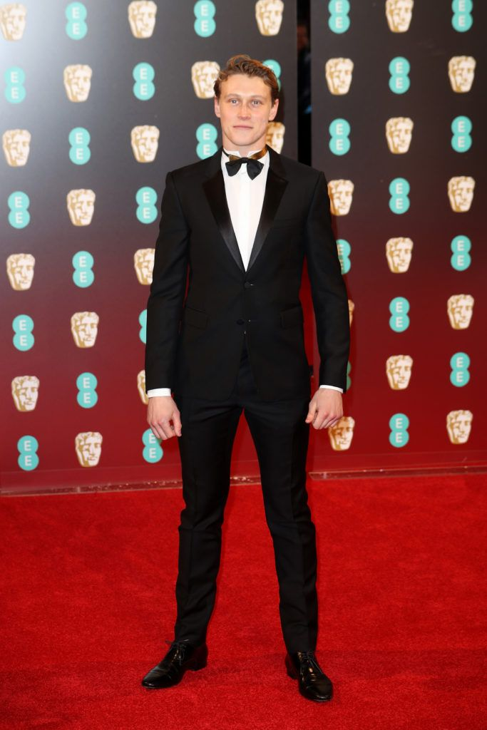 LONDON, ENGLAND - FEBRUARY 12:  George MacKay attends the 70th EE British Academy Film Awards (BAFTA) at Royal Albert Hall on February 12, 2017 in London, England.  (Photo by Chris Jackson/Getty Images)