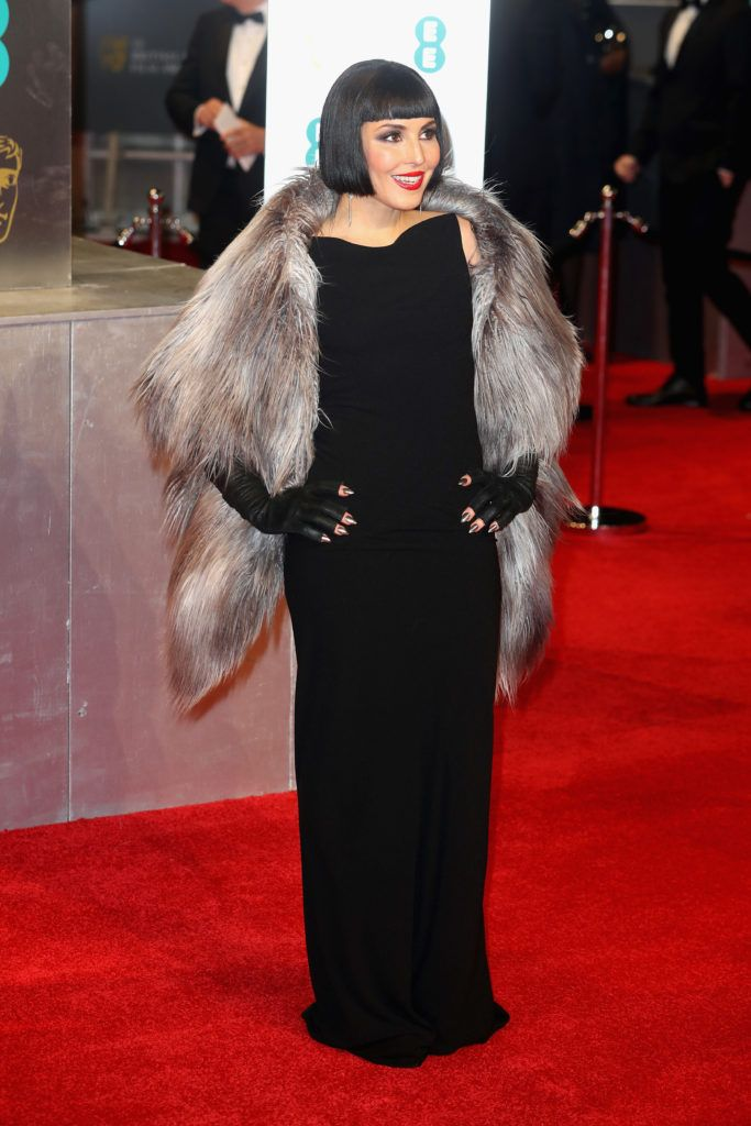 LONDON, ENGLAND - FEBRUARY 12:  Noomi Rapace attends the 70th EE British Academy Film Awards (BAFTA) at Royal Albert Hall on February 12, 2017 in London, England.  (Photo by Chris Jackson/Getty Images)