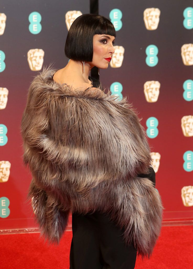 LONDON, ENGLAND - FEBRUARY 12:  Actress Noomi Rapace attends the 70th EE British Academy Film Awards (BAFTA) at Royal Albert Hall on February 12, 2017 in London, England.  (Photo by Chris Jackson/Getty Images)