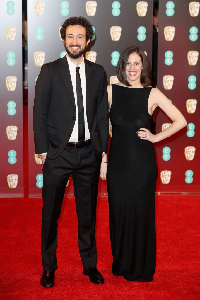 LONDON, ENGLAND - FEBRUARY 12: Josh Kriegman and Elyse Steinberg attend the 70th EE British Academy Film Awards (BAFTA) at Royal Albert Hall on February 12, 2017 in London, England.  (Photo by Chris Jackson/Getty Images)