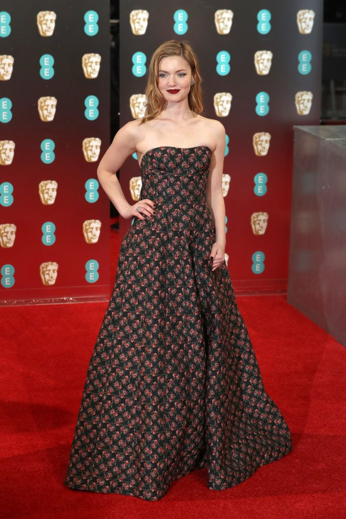 LONDON, ENGLAND - FEBRUARY 12:  Holliday Grainger attends the 70th EE British Academy Film Awards (BAFTA) at Royal Albert Hall on February 12, 2017 in London, England.  (Photo by Chris Jackson/Getty Images)