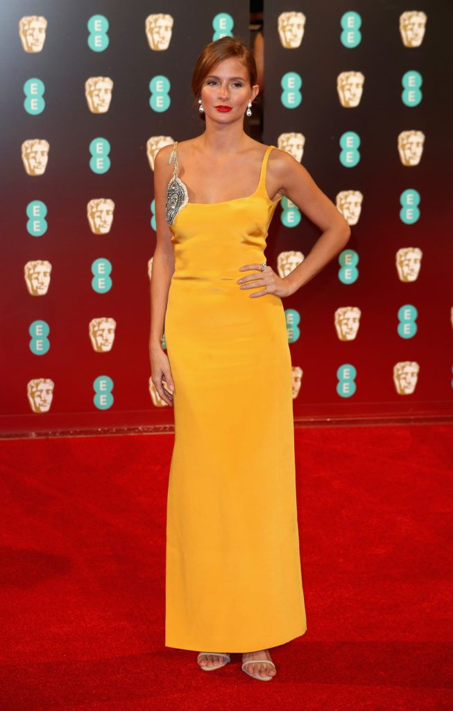 LONDON, ENGLAND - FEBRUARY 12:  Millie Mackintosh attends the 70th EE British Academy Film Awards (BAFTA) at Royal Albert Hall on February 12, 2017 in London, England.  (Photo by Chris Jackson/Getty Images)