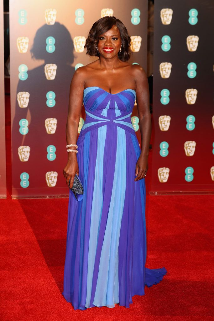 LONDON, ENGLAND - FEBRUARY 12:  Viola Davis attends the 70th EE British Academy Film Awards (BAFTA) at Royal Albert Hall on February 12, 2017 in London, England.  (Photo by Chris Jackson/Getty Images)
