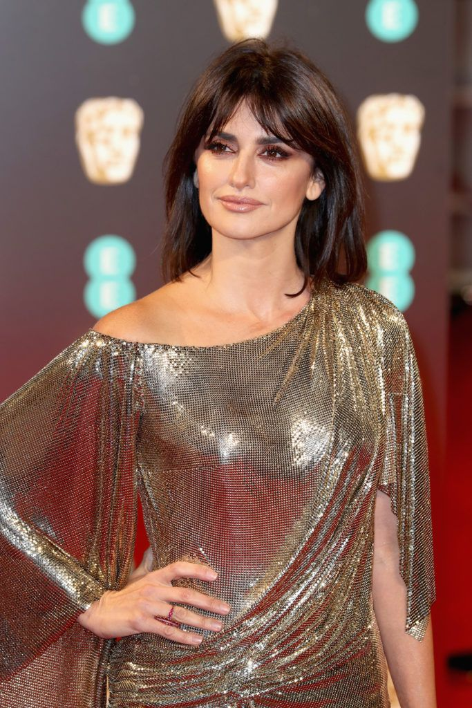 LONDON, ENGLAND - FEBRUARY 12:  Penelope Cruz attends the 70th EE British Academy Film Awards (BAFTA) at Royal Albert Hall on February 12, 2017 in London, England.  (Photo by Chris Jackson/Getty Images)