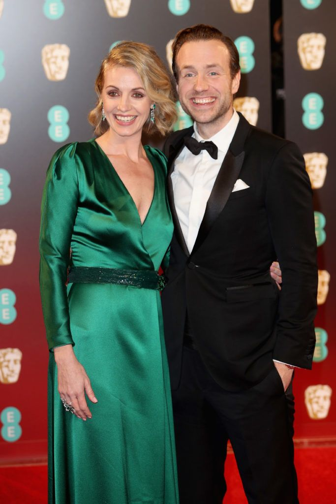 LONDON, ENGLAND - FEBRUARY 12:  Elize du Toit and Rafe Spall attend the 70th EE British Academy Film Awards (BAFTA) at Royal Albert Hall on February 12, 2017 in London, England.  (Photo by Chris Jackson/Getty Images)