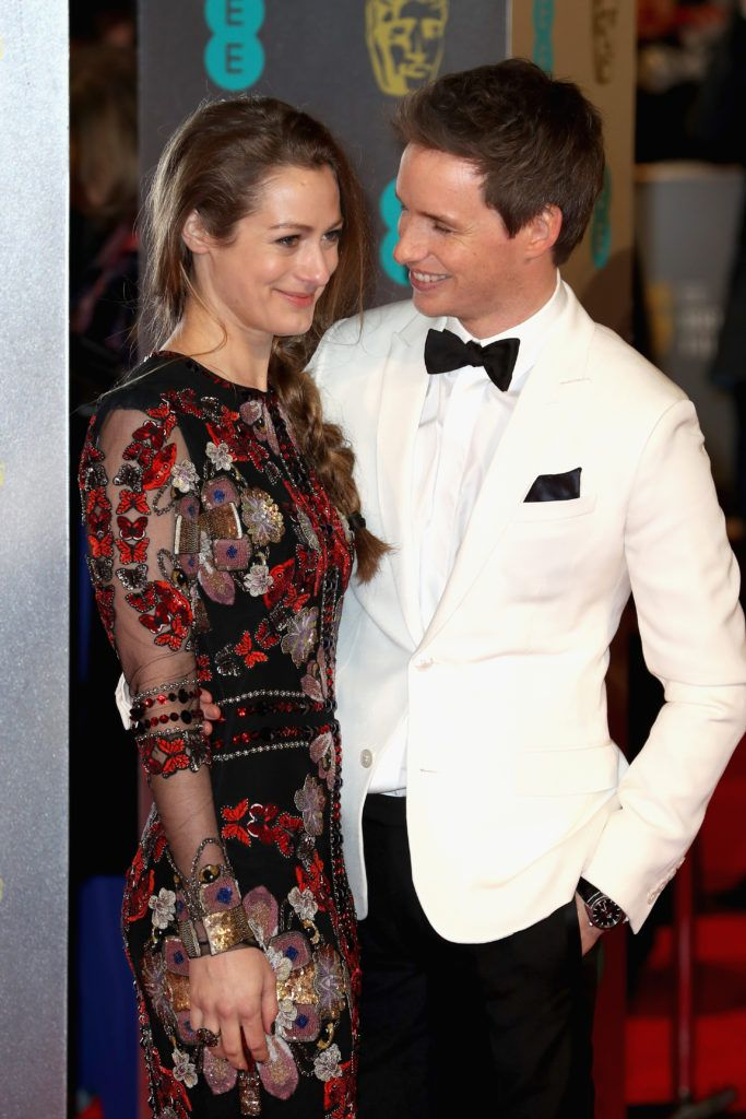 LONDON, ENGLAND - FEBRUARY 12:  Hannah Bagshawe and Eddie Redmayne attend the 70th EE British Academy Film Awards (BAFTA) at Royal Albert Hall on February 12, 2017 in London, England.  (Photo by Chris Jackson/Getty Images)