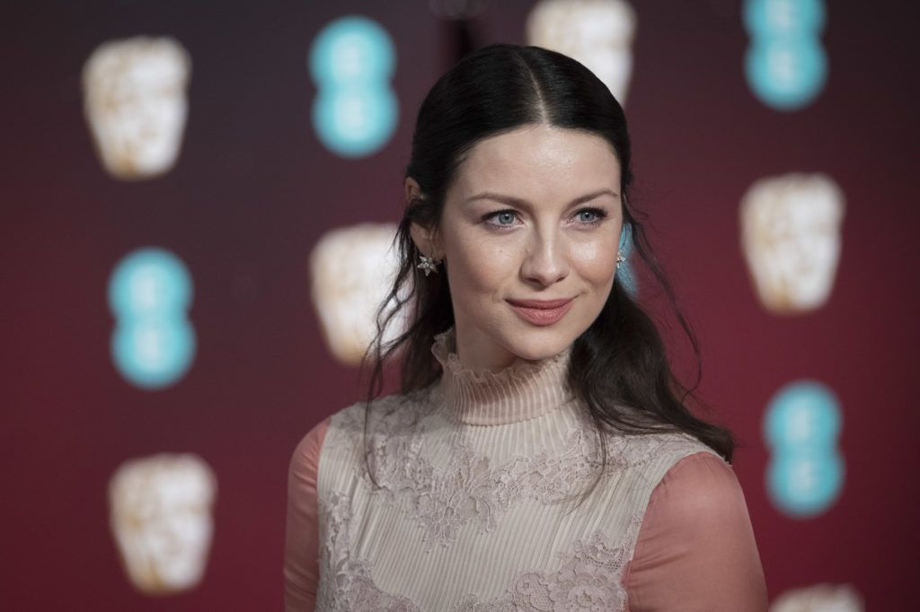 LONDON, ENGLAND - FEBRUARY 12:  Caitriona Balfe attends the 70th EE British Academy Film Awards (BAFTA) at Royal Albert Hall on February 12, 2017 in London, England.  (Photo by John Phillips/Getty Images)