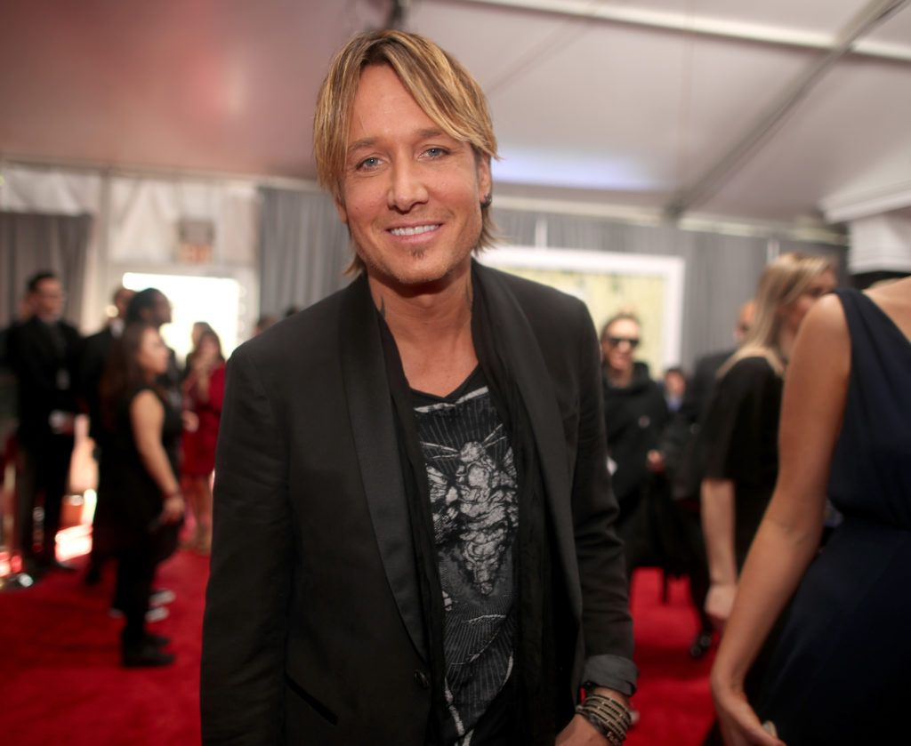 LOS ANGELES, CA - FEBRUARY 12:  Musician Keith Urban attends The 59th GRAMMY Awards at STAPLES Center on February 12, 2017 in Los Angeles, California.  (Photo by Christopher Polk/Getty Images for NARAS)