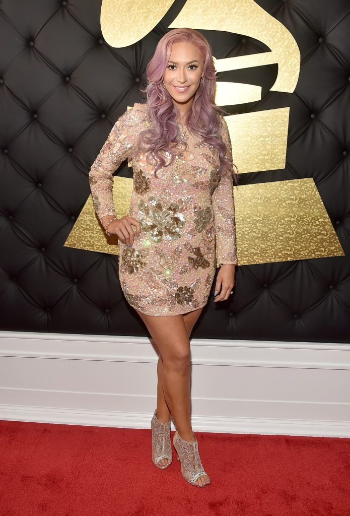 LOS ANGELES, CA - FEBRUARY 12:  Singer Kaya Jones attends The 59th GRAMMY Awards at STAPLES Center on February 12, 2017 in Los Angeles, California.  (Photo by Alberto E. Rodriguez/Getty Images for NARAS)