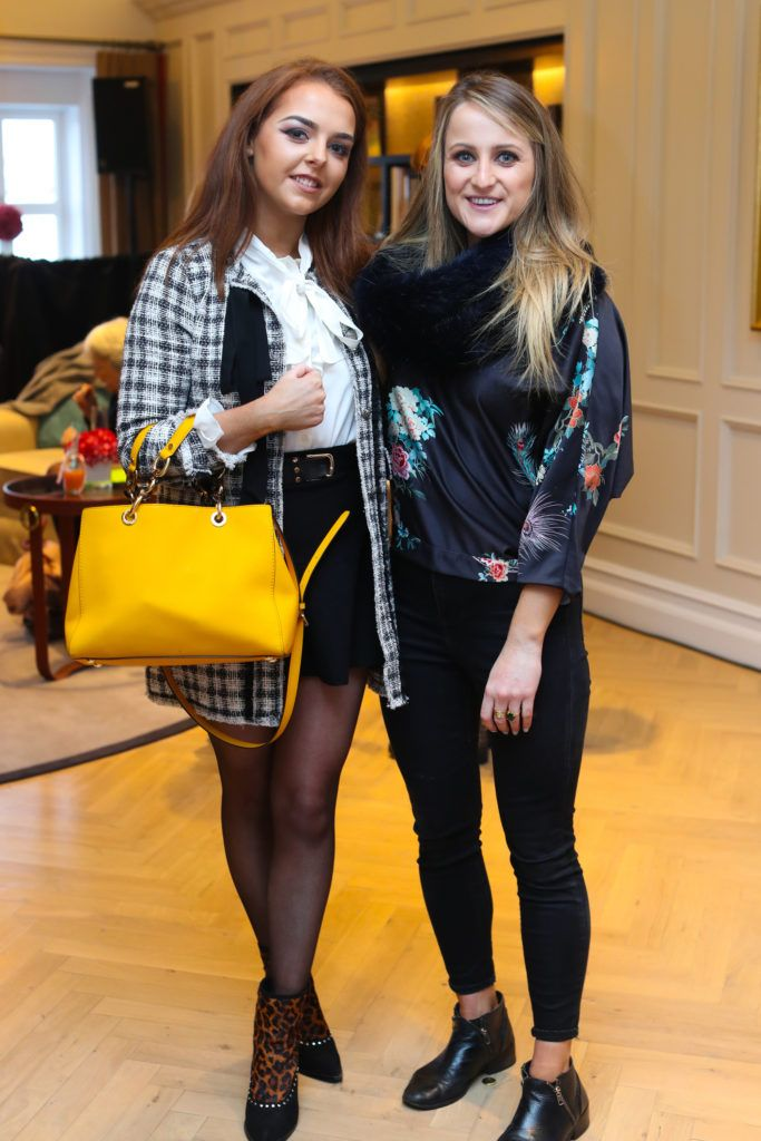 Eimer Everard  and Justine King pictured at the New Season launch at Kildare Village on Thursday, 9th February. Photo by Maxwell Photography.