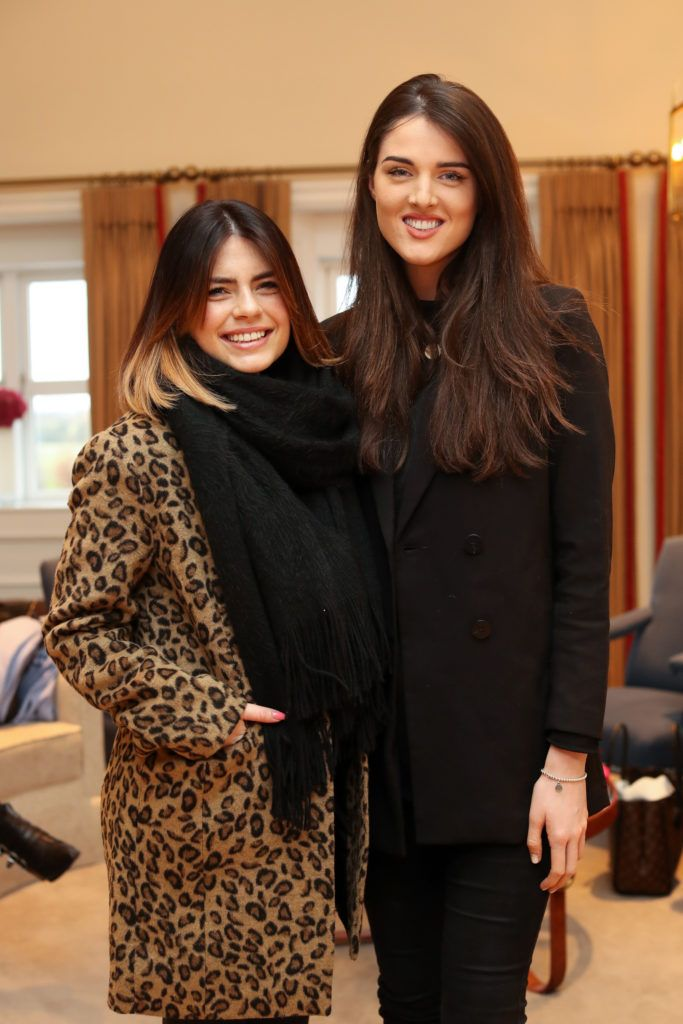 Lauren Arthurs and Rebecca O'Byrne pictured at the New Season launch at Kildare Village on Thursday, 9th February. Photo by Maxwell Photography.