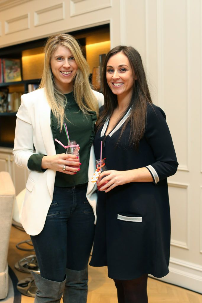 Michelle Murphy Lee-Ann McCarthy from Kildare Village pictured at the New Season launch at Kildare Village on Thursday, 9th February. Photo by Maxwell Photography.