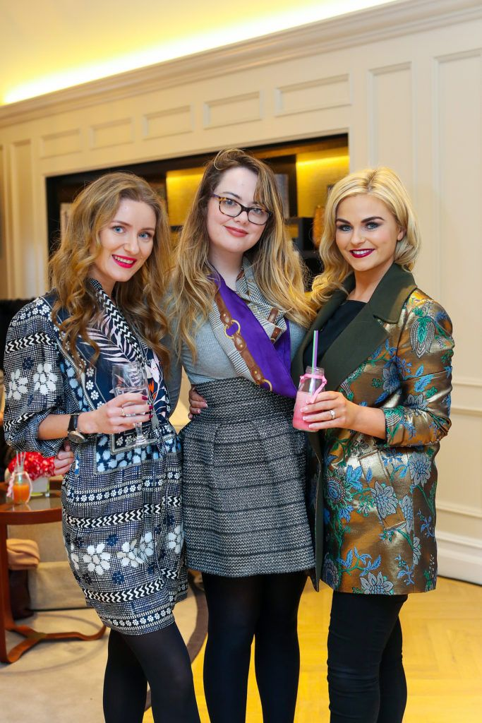 Natalie Svikle,Georgina O'Hanlon and Arlene Costello pictured at the New Season launch at Kildare Village on Thursday, 9th February. Photo by Maxwell Photography.