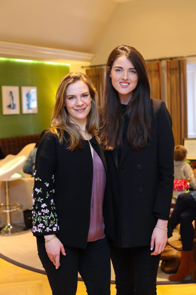 Julia Wilkes and Rebecca O'Byrne pictured at the New Season launch at Kildare Village on Thursday, 9th February. Photo by Maxwell Photography.